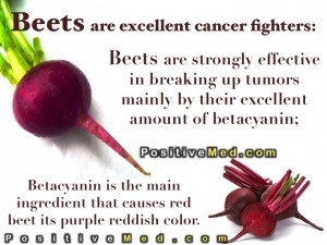 Beets for cancer