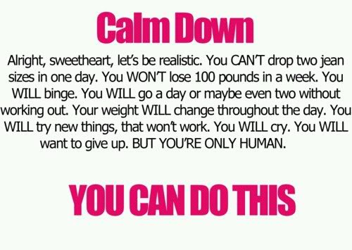 Calm weight loss