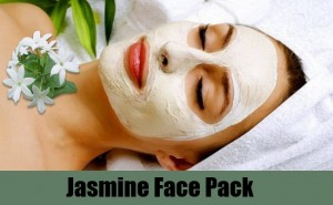 Jasmine face pack for glowing face