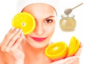 Orange for glowing skin