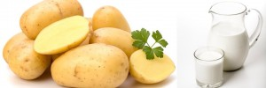 Potatoes for glowing skin