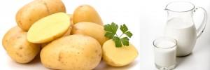 Potatoes for glowing skin