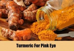 Turmeric for conjunctivitis