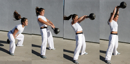 Kettlebell swings